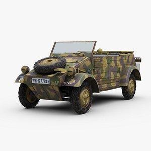 Kubelwagen Kfz1 3D model