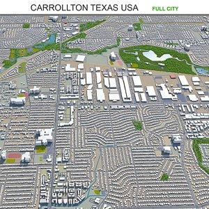 Carrollton Texas USA model