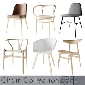 chair seating furniture 3D model