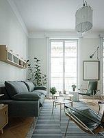 Scandinavian interior scene