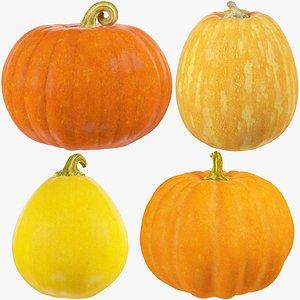 Pumpkins Collection V2 3D
