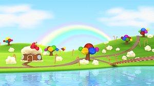 candy land model