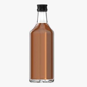 3D Whiskey bottle 18 model
