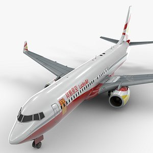 boeing 737-8 lucky air model