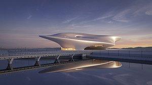 Futuristicbuilding34 3D