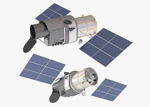 xuntian telescope space 3D