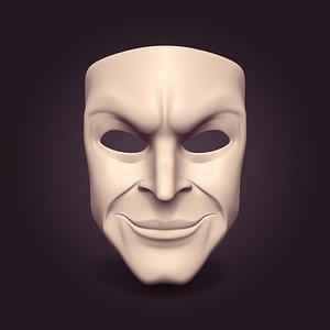 3D Gang TheaterMask model