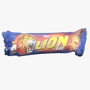 lion bar 3D