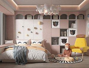3D Bedroom Postmodern