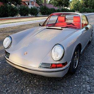 porsche 911 1972 3D model