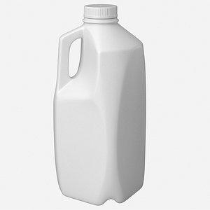 milk jug 3D