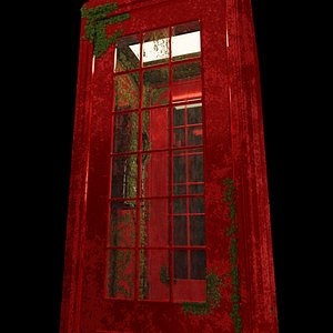 england booth phonebooth 3D model
