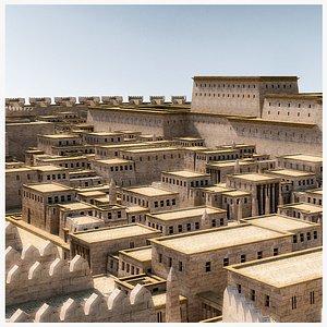 ancient city 3D