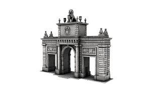 3D Fantasy Gateway