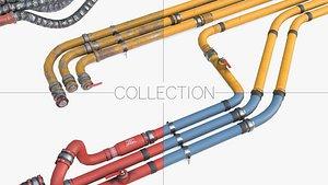 3D pipes - modular