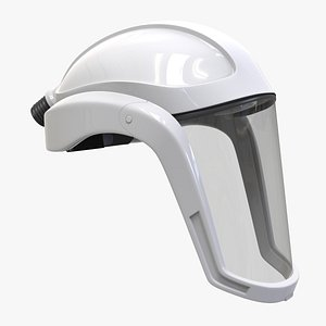 facial faceshield helmet model