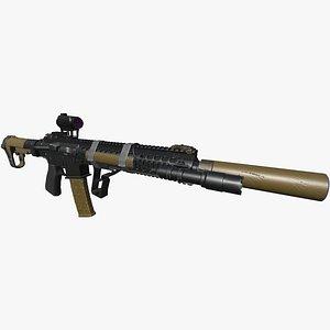AR15    SR16E3   Red Dot Aim model