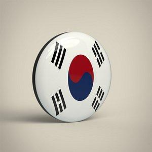 South Korea Badge model