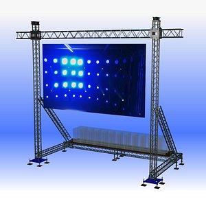 screen outdoor 3D model