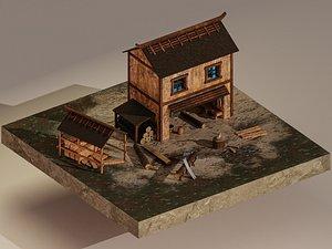3D Sawmill Level 10