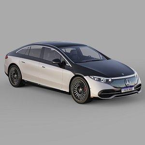 3D model Mercedes Benz EQS 2022