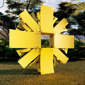 3D SOL Edgar Negret model