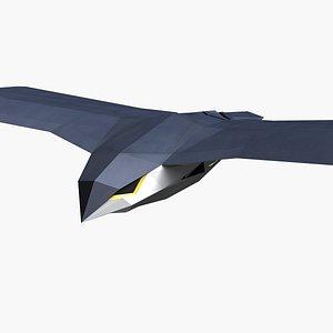 3D aircraft plane model