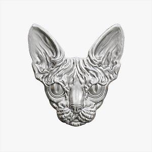 sphinx pendant 3D model