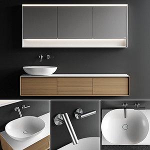 3D vanity shape evo unit model