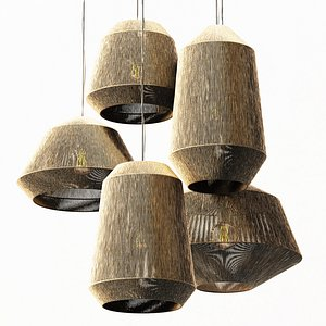 bar lamp 3D