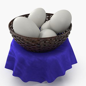 3D model cup egg