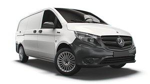 Mercedes Benz E Vito Panel Van L2 2021 3D model