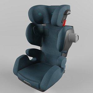 3D Recaro Mako Elite Children Car Seat  Select Teal Green model