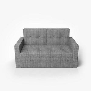 3D sofa folding