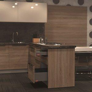 kitchen 03 3D model