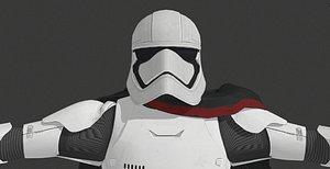 3D captain phasma starwars -