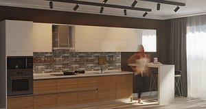 kitchen 02 model