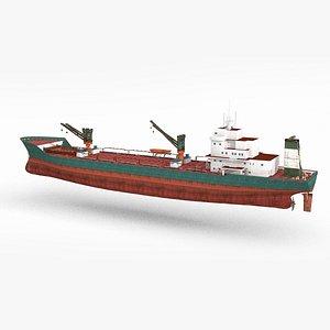 3D large ocean-going ship model