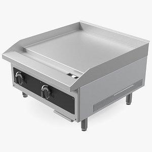 3D Gas Countertop Griddle model