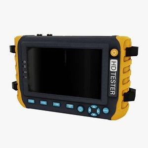 3D tablet cctv camera model
