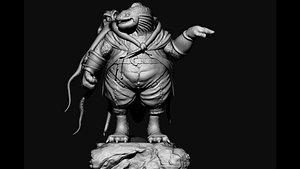 monster 3dprint model 3D model