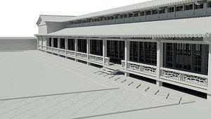 3D pavilion japanese architecture