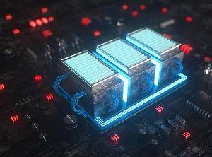 3D light-emitting CPU processor
