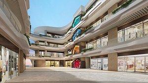 Shopping Mall 02 model