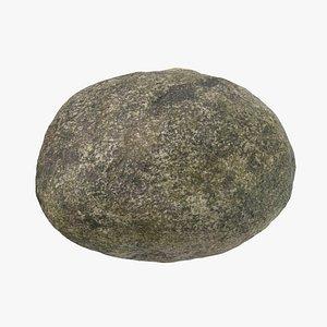 Round Stone 01 3D model