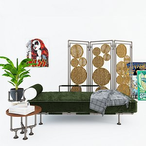 3D Daybed and Partition DP3 model