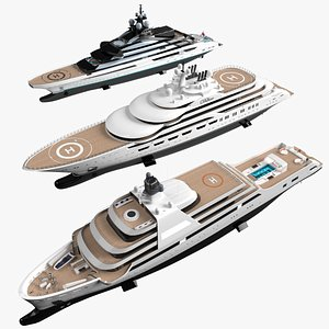 Superyacht Collection 3D