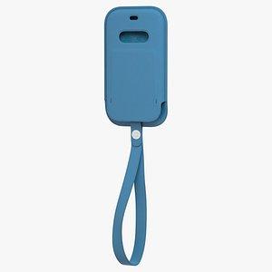 iphone 12 mini leather 3D model