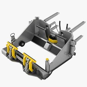 3D Deck Tow Tractor Mechanism