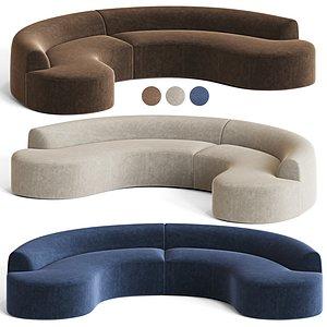 Chubby Sectional Sofa model